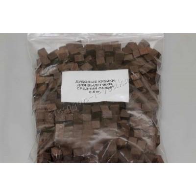 дубовые кубики для выдержки, средний обжиг (0,5 кг)